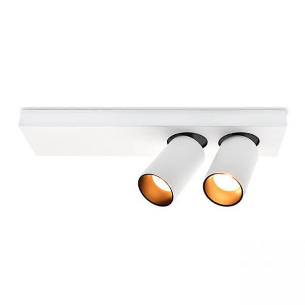 צמוד תקרה + צילינדרים מתכווננים