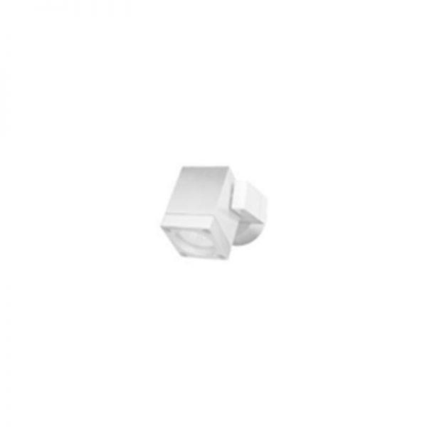 צמוד קיר לבן מתכוונן מוגן מים